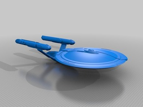 Star Trek John Eaves Concept hollow 1:350