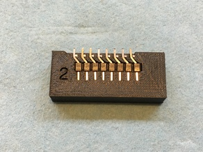 Arduino Offset Header Jig