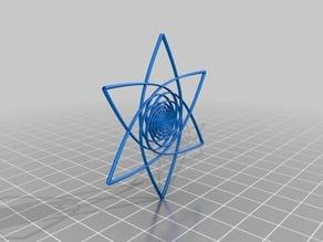 phi-spiral vortex flower