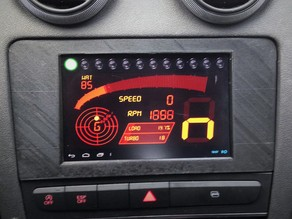 Audi A3 NEXUS 7 Dash mount - v1.1