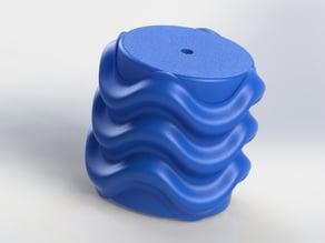 Texture wheel soft wave