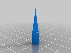 Nerf dart sharp head