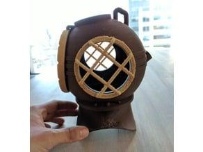 Diver's Helmet Assebly