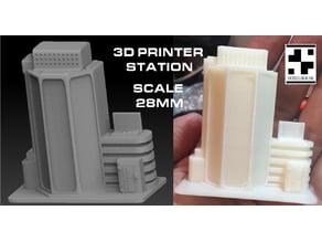 SCIFI 3D Print Stations