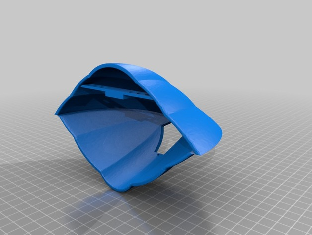 Trimaxion Drone Ship - Modified and Hollowed by chadbaycroft - Thingiverse