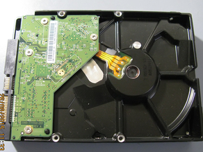 HDD one side cover