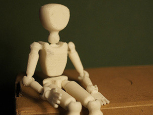Poseable mannequin
