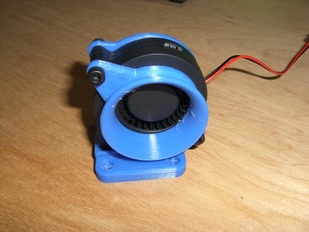 Centrifugal Fan 2 40 Watt : Mm axial to centrifugal fan adapter by kmccon
