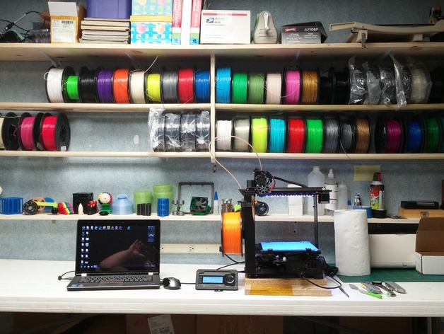 & Filament Storage Rack Idea by scootnfast - Thingiverse
