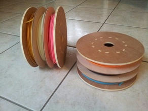 Spool for 3 color