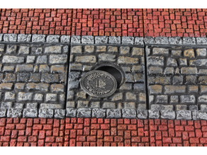 OpenForge 2.0 Cobblestone Streets: Manholes
