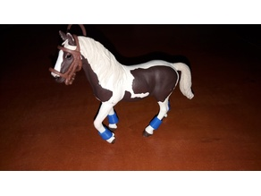 horse bandages (for horse schleich)