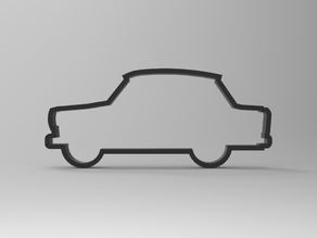 Trabant 601 cookie cutter