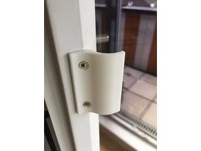 Balcony door handle