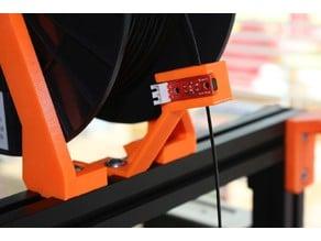 Optical filament runout sensor bracket for 30x30 extruded aluminum profile
