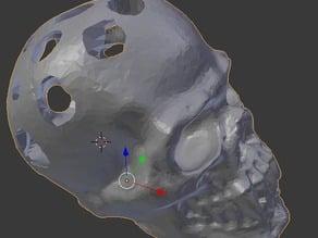 Vampire Skull Dice Shaker
