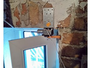 Actuator for small window