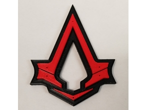 Assassin's Creed Syndicate Logo Keychain