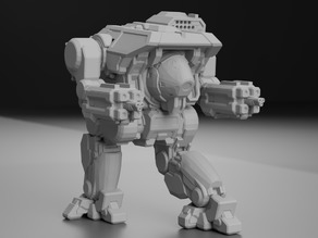 Dire Wolf Prime, AKA Daishi, Revisited for Battletech