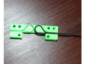 X Belt holder part for Anet A8 and Prusa I3 only for GT2 Belt 1.3-1.4mm