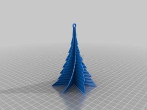 My Customized Christmas Tree 75deg, .5mm thick