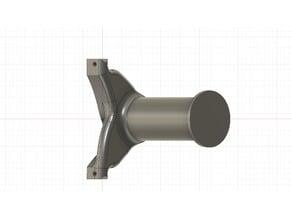 Frame mounted spool holder
