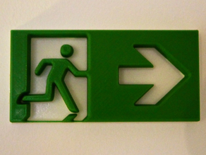 emergency exit (Notausgang)