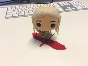 Daenerys Targaryen Vinyl Figure Stand