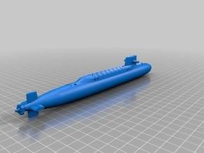 George Washington Class Submarine (Simplified)