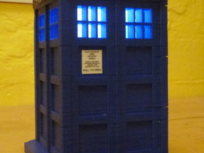 Doctor Who TARDIS with windows
