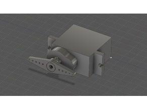 Continous servo FS90R model