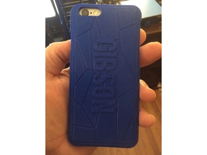 Gibson iPhone 6 case