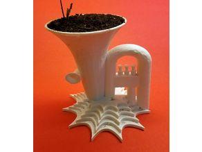 Tuba Planter