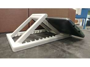 Bigger Universe Folding Cell Phone and Tablet Stand - Great for Airplanes