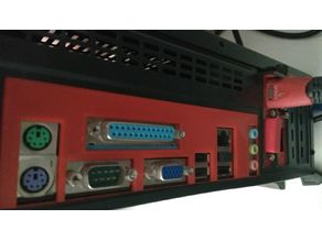 ASUS P8H61-MLX BACKPLATE
