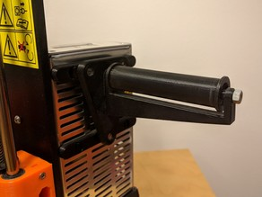 Side-mounted Spool Holder for the Original Prusa i3 MK2