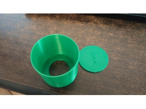 Seeding Pot with Removable Bottom for Easy Transplantation