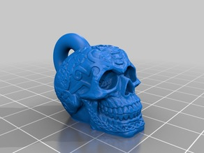 Celtic Skull Keychain