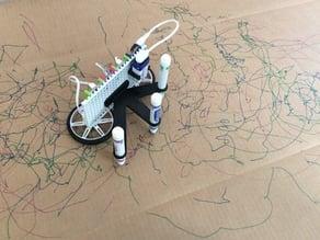 littleBits doodle wizard attachments