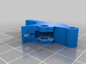 Direct Drive Extruder for E3D Idler with upper support Modification