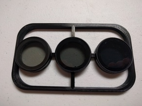 DJI Phantom 3 4k PolarPro Lens Filter Holder