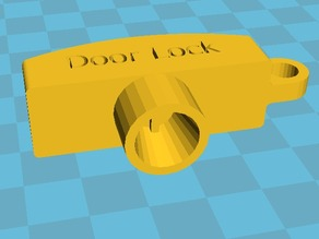 Door Lock Outer Key