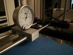 Print bed level watch holder