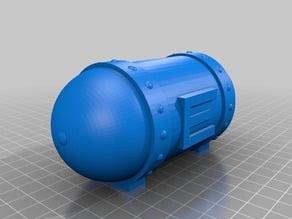 Metroid - Energy tank - capsule (open / closed)