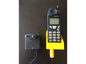Nokia 5110 wallmount with charger attachment