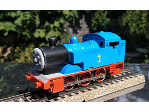 Thomas locomotive body for a Märklin chassis - H0 scale