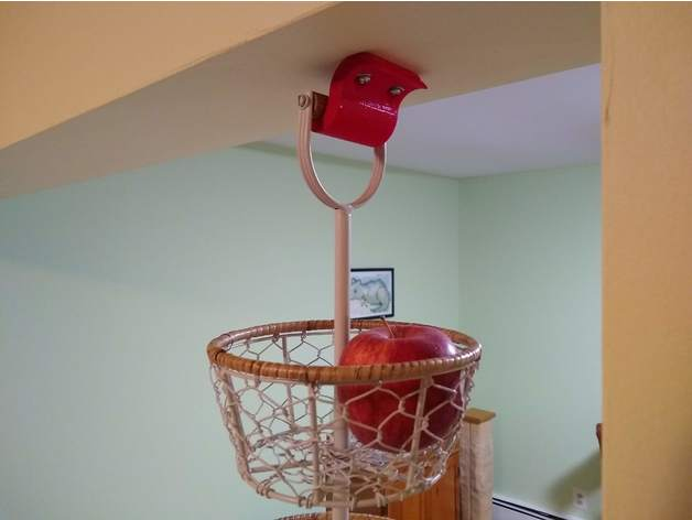 Non-hanging kitchen basket hanger bracket thingy by ...