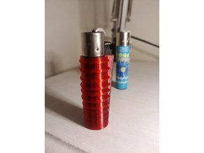 Clipper Lighter Sleeve Case - Ribbed For Your Gripping Pleasure