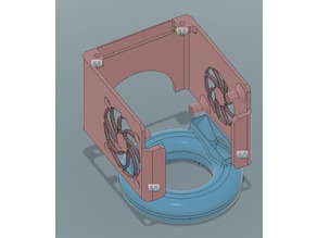 Anycubic I3 mega fan cover