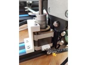 CR-10 Adjustable Z-axis Stepper + Damper Bracket (Remix)